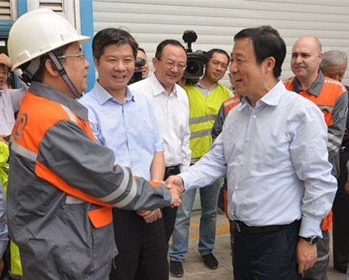 The Acting Governor of Hunan Province Visited VAMA