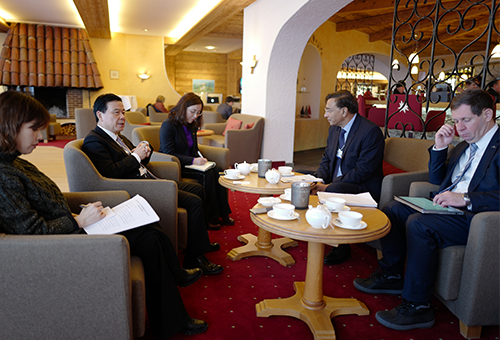 Zeng Qinghong, Chairman of GAC met with LakshmiN.Mittal, Chairman and CEO of ArcelorMittal